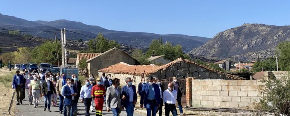 """Carlos García agradece """"la sensibilidad"""" del Gobierno para actuar sobre las consecuencias de los incendios"""