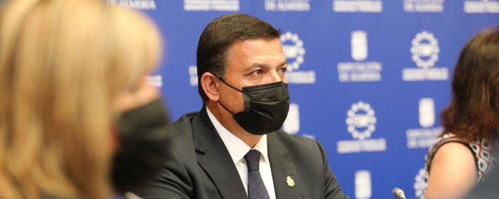 """Carlos García reclama al Gobierno """"más participación y flexibilidad para la gestión de los fondos europeos"""""""