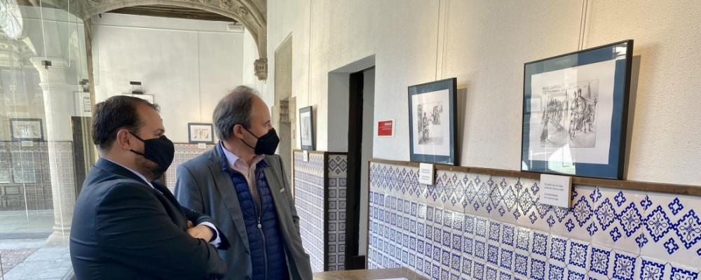 Las vidas paralelas de los hermanos Bécquer, en la exposición de este mes en el Torreón de los Guzmanes