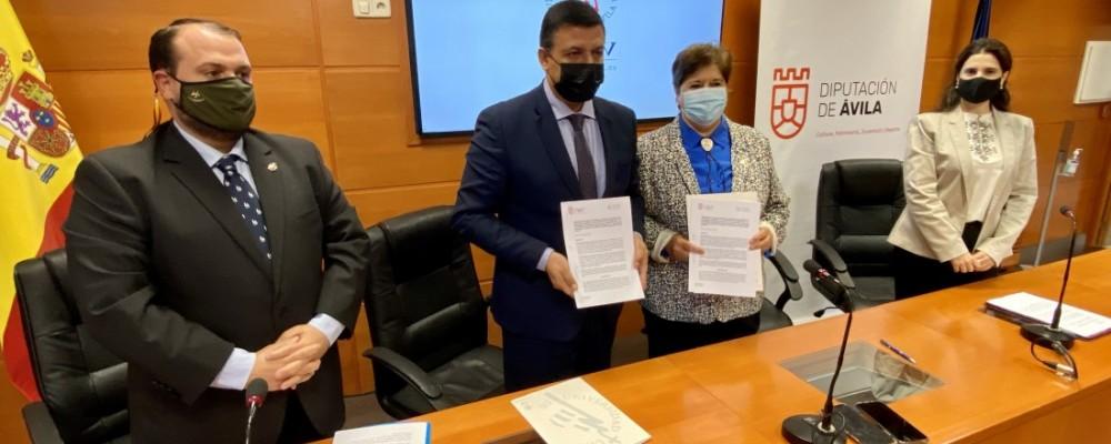 La Diputación impulsa junto a la UCAV una Cátedra para el estudio de la obra política de Adolfo Suárez
