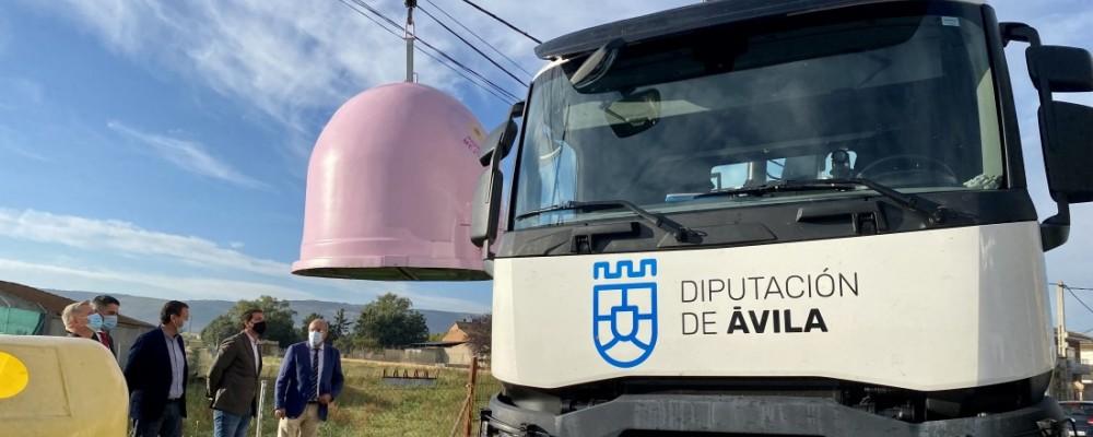 La Diputación, en la campaña solidaria 'Recicla vidrio por ellas' de concienciación sobre el cáncer de mama