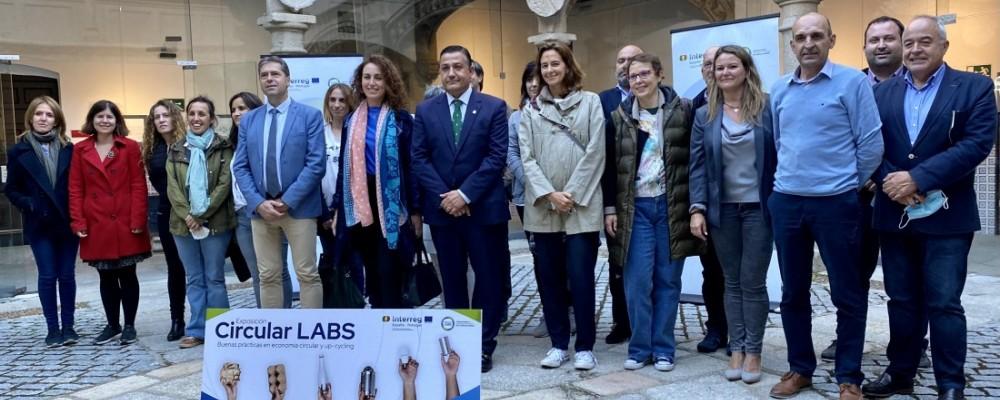 La Diputación acoge la reunión de socios del proyecto europeo Circular Labs