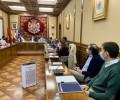 Foto de Avances en el Plan de Emergencias con la reunión de técnicos en el Palacio Provincial