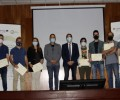 Foto de Entrega de diplomas a los alumnos del curso 'Imprime tu Futuro' sobre formación en impresión 3D