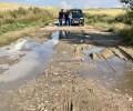 Foto de La Diputación reparará los caminos agrícolas de La Moraña afectados por la granizada del 1 de junio