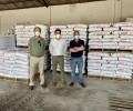 Foto de Tres cooperativas donan 33,6 toneladas de pienso para el ganado afectado por el incendio de Navalacruz