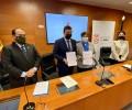 Foto de La Diputación impulsa junto a la UCAV una Cátedra para el estudio de la obra política de Adolfo Suárez