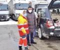 La Diputación asume el coste de los alimentos de los transportistas embolsados en la A-6 por Filomena