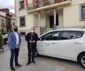 La Diputación continúa la promoción de la movilidad eléctrica con el préstamo del vehículo a Cebreros