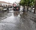La Diputación actúa en Riatas para limpiar el agua y los arrastres ocasionados por las lluvias