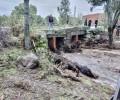 Más de cien operarios de la Diputación se despliegan para limpiar los destrozos causados por las lluvias