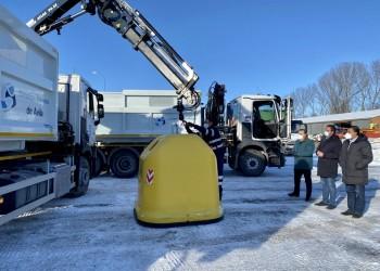El contenedor amarillo estará en todos los núcleos de población abulenses en febrero