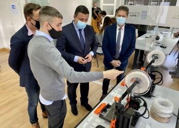 La Diputación presenta su Laboratorio de Innovación 3D para fomentar la economía circular