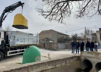 El contenedor amarillo llega ya a todos los núcleos de población de la provincia