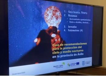 Una guía y un banco de pruebas a disposición de los ayuntamientos para reducir la contaminación lumínica (2º Fotografía)