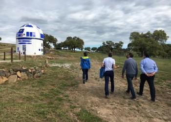 La Diputación se interesa por el modelo de desarrollo del astroturismo en la provincia de Badajoz (2º Fotografía)