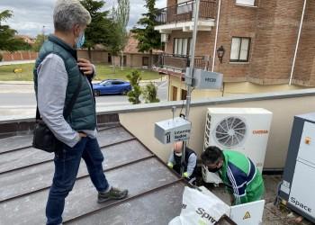 En marcha en Fontiveros una campaña de control de calidad del aire con nanosensores (2º Fotografía)