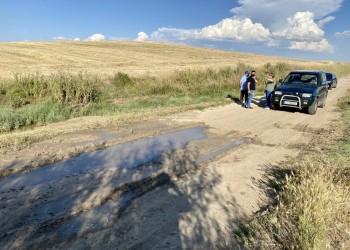 La Diputación reparará los caminos agrícolas de La Moraña afectados por la granizada del 1 de junio (2º Fotografía)