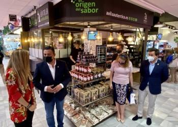 Ávila Auténtica inaugura su primer espacio de venta física en el Mercado de Chamartín de Madrid (3º Fotografía)