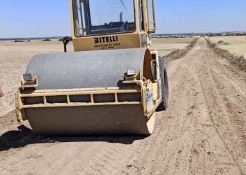 Concluye el arreglo de caminos agrícolas de La Moraña afectados por la granizada de junio (2º Fotografía)