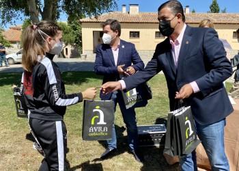 Ávila Auténtica y 33 deportistas abulenses sellan su colaboración para promocionar la marca colectiva de la Diputación (3º Fotografía)
