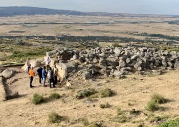 La excavación 2021 en 'El Torreón' de Ulaca sigue buscando descubrir la función que tuvo el edificio