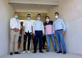 Albornos cuenta con una nueva explotación porcina con capacidad para dos mil cerdos (2º Fotografía)