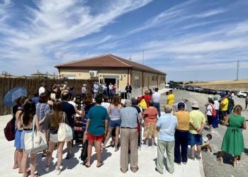 Santa María del Cubillo estrena piscina construida con el Plan Extraordinario de la Diputación (3º Fotografía)