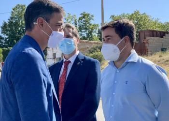 """Carlos García agradece """"la sensibilidad"""" del Gobierno para actuar sobre las consecuencias de los incendios (2º Fotografía)"""