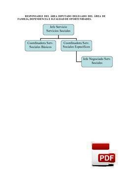 Organigrama Servicios Sociales